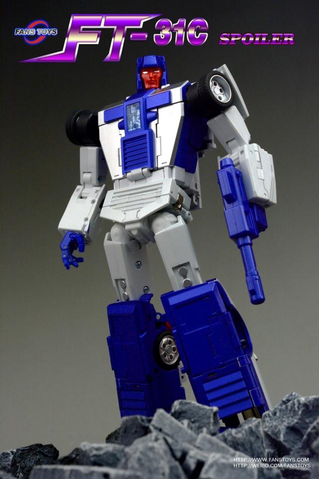 Transformers FansToys FT-31B Magnum Menasor action figure spot NEW
