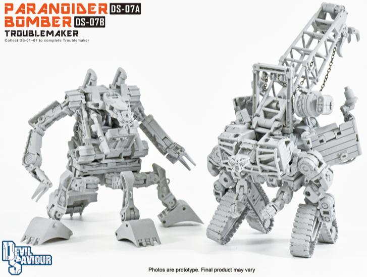 Transformers diable Sauveur DS-04 Smash fauteur de troubles en Stock